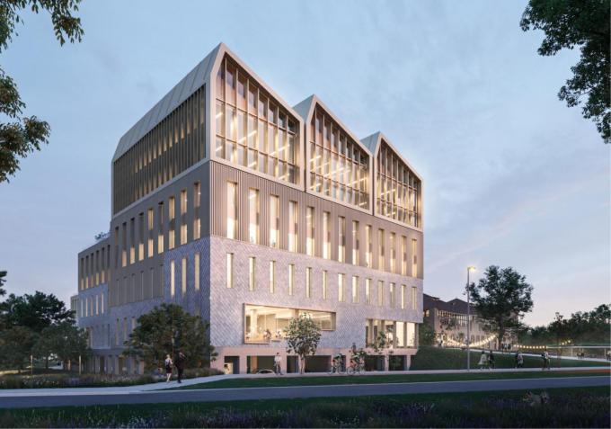 Het ontwerp van het consortium met evr-architecten, MBG, INBO en Arcadis?.
