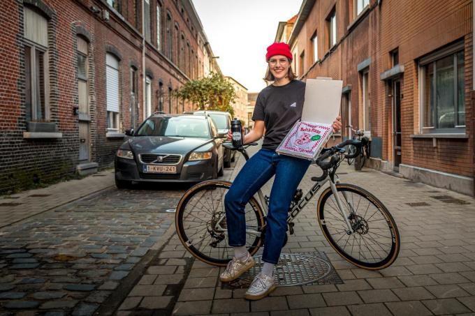 Astrid Heggerick begint straks zelf te koersen bij KDM-Pack Cycling Team.©Wouter Meeus foto WME