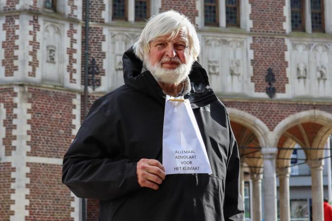 Joris Cools is een advocaat voor het klimaat.© foto KV