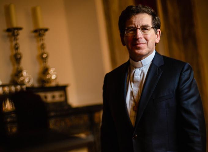 Ook de Brugse bisschop Lode Aerts betreurt het standpunt van het Vaticaan over homofilie.© Davy Coghe