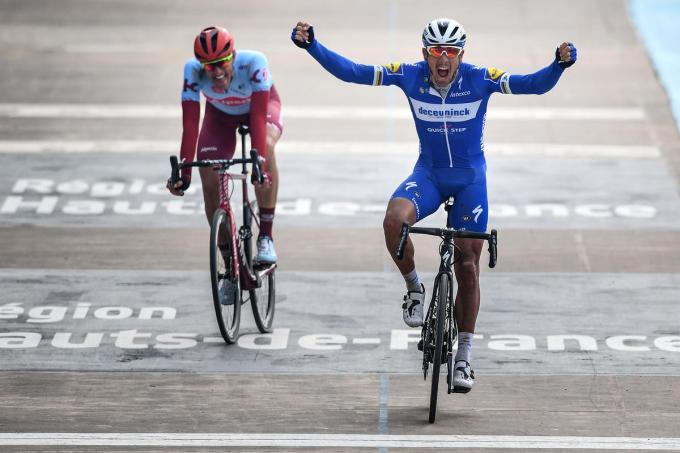Philippe Gilbert is de laatste winnaar van de Helleklassieker.© BELGA