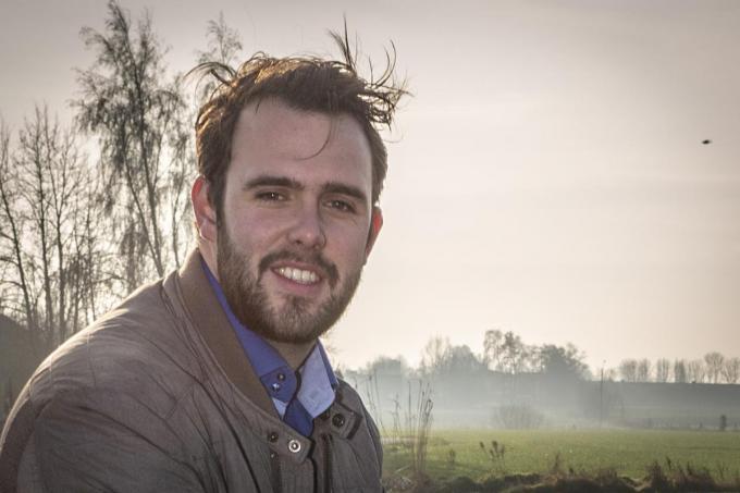 Gemeenteraadslid Gert-Jan Hovaere.©jan_stragier;Jan Stragier Jan Stragier