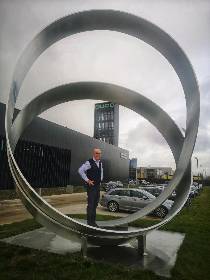 CEO Luc Renson.©MYRIAM VAN DEN PUTTE