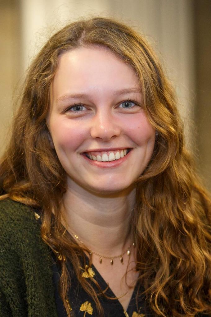 Laure Melis studeert bestuurskunde.© Jan Verbeke