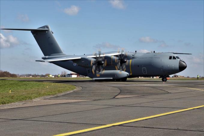 De A400M vervangt de C-130 Hercules.© MVO