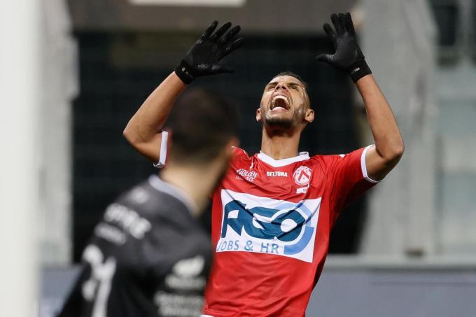 Zinho Gano miste een enorme kans toen het nog 0-0 stond.© BELGA