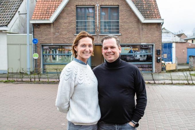 Jurgen De Sutter en Valérie Aerts.© DC