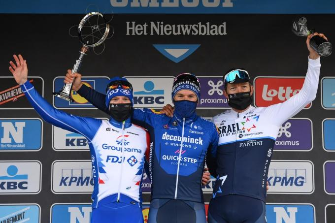 Sep Vanmarcke werd een maand geleden derde in de Omloop.© BELGA