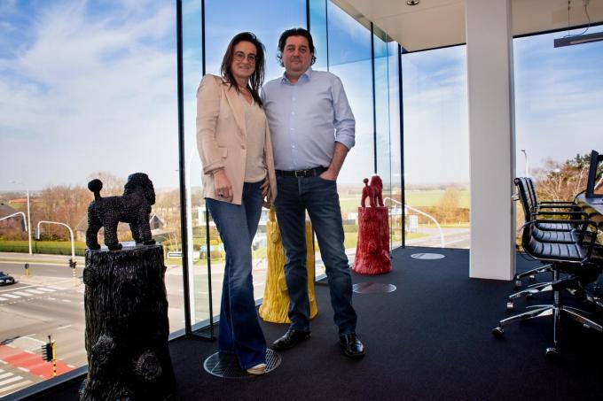 Ilse Nagel en Karel Vlaemynck willen van The Office een succes maken.©WMe by Wouter Meeus