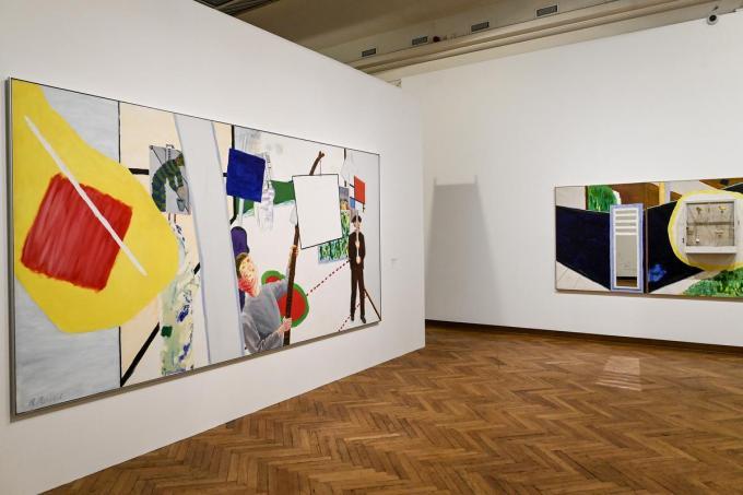 In Bozar in Brussel loopt een tentoonstelling over Roger Raveel.© (Foto BELGA)