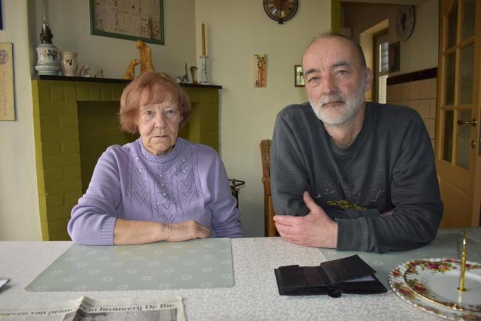 Stefan Orbie woont weer bij zijn moeder Martha Devinck.© TOGH