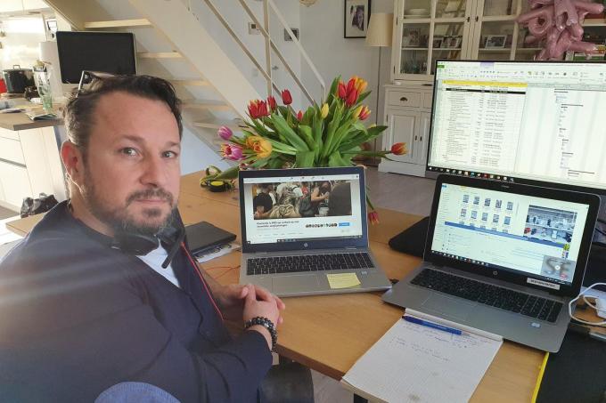 Mathieu Misselyn is de initiatiefnemer van de Facebookgroep.© GF