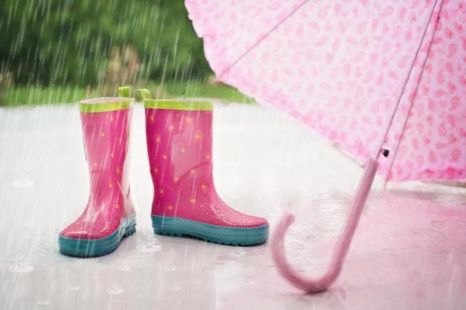 Bereid je voor op regen.©Pixabay