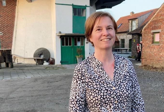 Susy Wieme, de molenares van de Knokmolen© KVdm