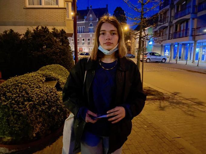 Julie Vanneste droomt ervan om actrice te worden© KVdm