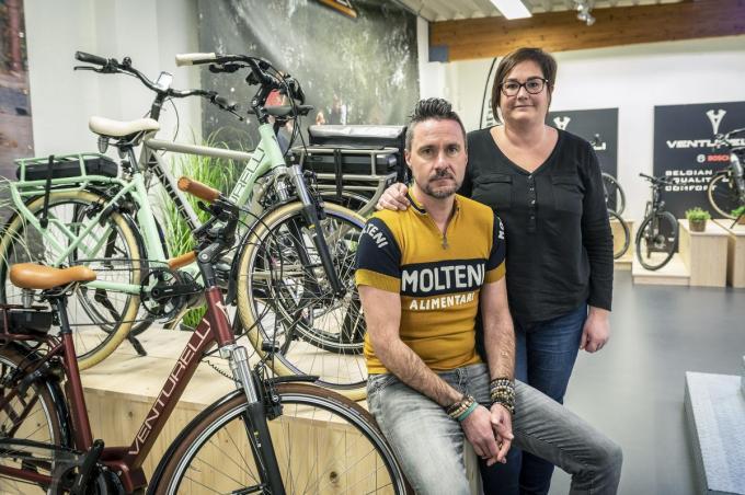 Sabien Bonaventure en haar man Wendy Devuldere zijn al de vierde generatie in het bedrijf. (foto SB)© Stefaan Beel
