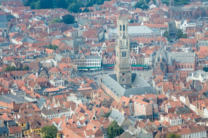 Het Belfort blijft één van de toplocaties in Brugge.©Davy Coghe Davy Coghe