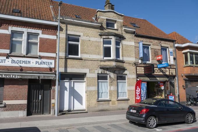 De woning in de Brugsesteenweg 129 wordt opnieuw verkocht.©STEFAAN BEEL Stefaan Beel