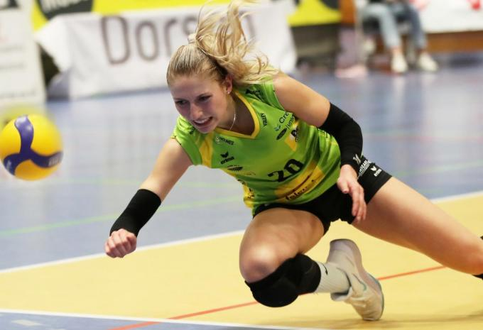 Alleen Basia Zakoscielna kon wat scoren.© (Foto VDB)