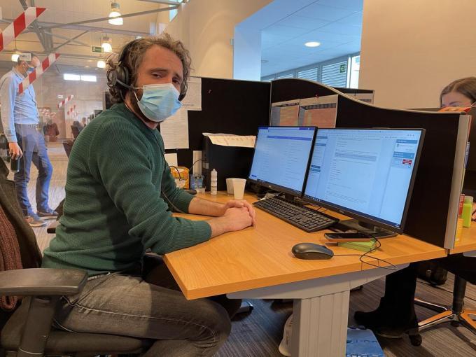 Jethro is een van de medewerkers die dagelijks slecht nieuws moeten brengen. (foto JRO)