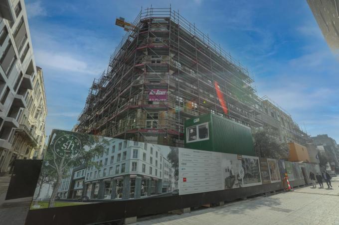 Het Senior Homes-project Residentie Rialto in de Langestraat moet in de zomer klaar zijn. (foto PM)
