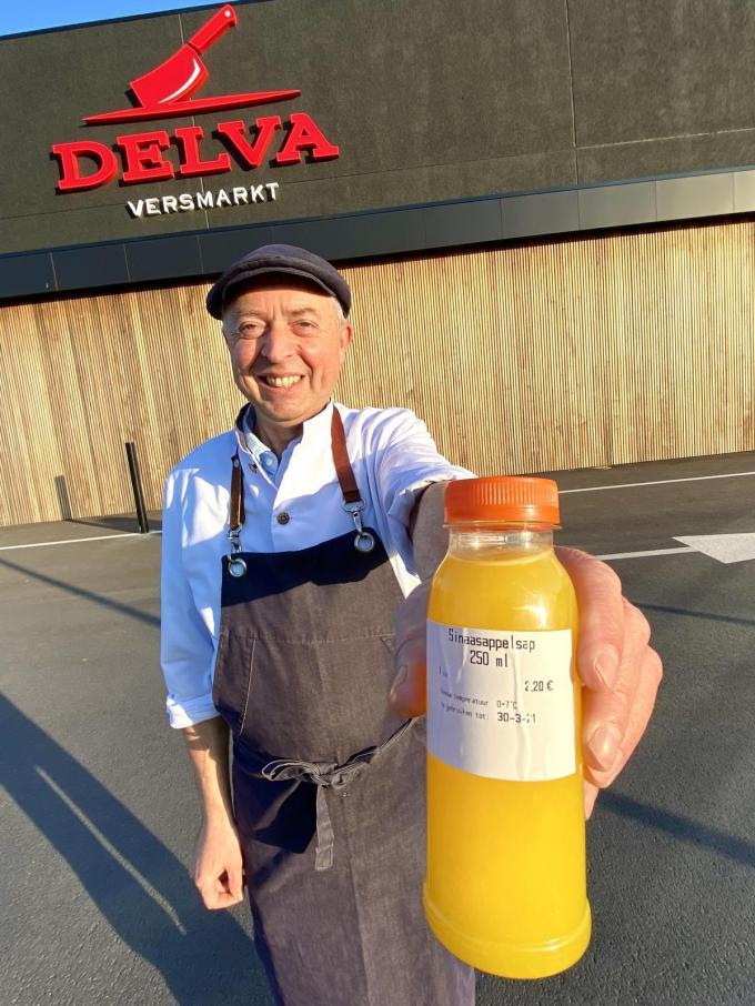 "Pol Bruynooghe, medewerker Delva: ""Pikuurtje is een gratis vitaminekuurtje!""©MYRIAM VAN DEN PUTTE"