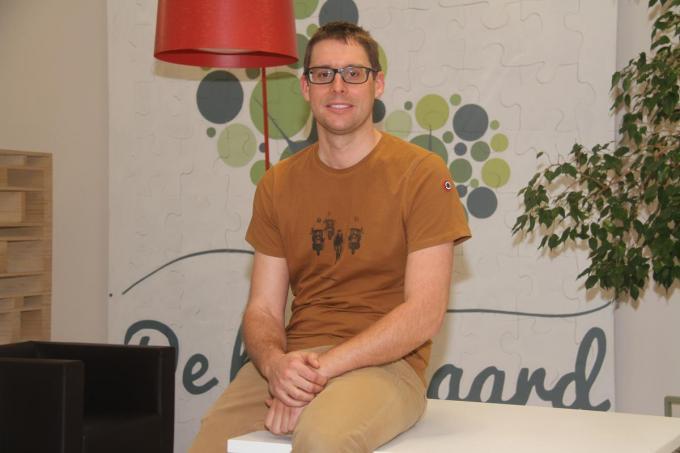 Matthias Vanderhauwaert, directeur van wzc De Boomgaard, kiest voor een nieuwe uitdaging. (foto pco)©Philippe Corneillie