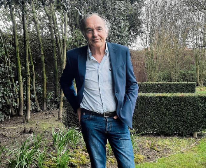 Herman Dejonckheere zal straks nog wat meer tijd in zijn tuin kunnen spenderen.