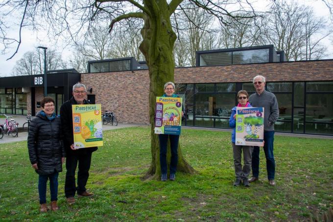 Isabelle Seynhaeve, Eric Vanhauwaert, Els Bernaerts, Martine Deboosere en Marc Stragier. (foto SL)