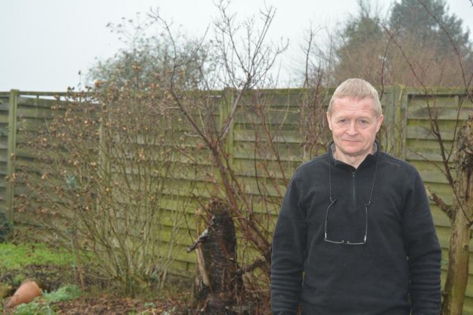 Voorzitter Johan Wullaert. (foto CLY)