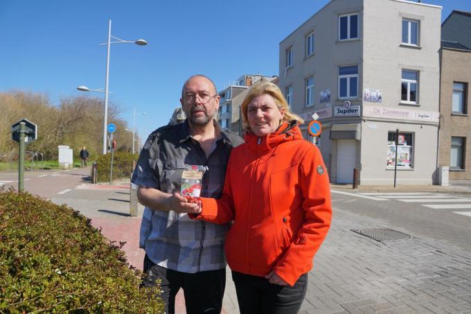 Robby Verlee en Vanessa Debruyne, uitbaters van De Zeemeeuw.© MM