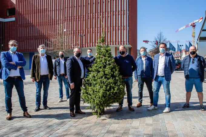 Het Brugs Handels Centrum (BHC) opent de kandidatuurstellingen voor de kerstmarkt.©Davy Coghe Davy Coghe