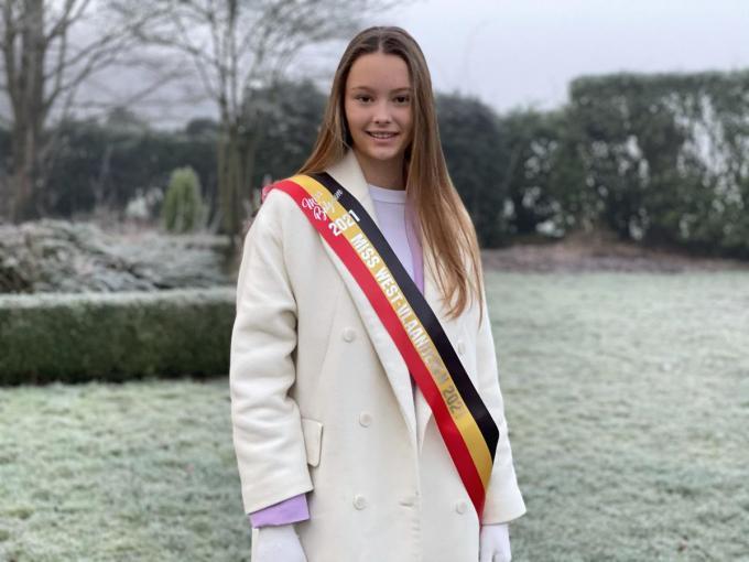 Louise-Marie werd tweede eredame en kreeg ook de titel van Miss Flanders en Miss Sport.