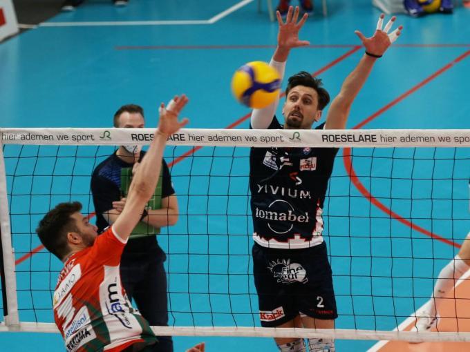 Hendrik Tuerlinckx lonkt naar een zevende titel als afscheid aan Knack Volley.© VDB