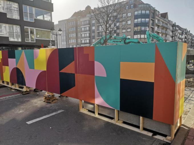 Eltono's oeuvre is te bewonderen in de straten van meer dan negentig steden.© DM