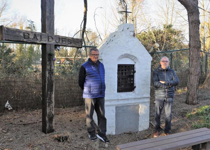 Jean-Marie D'haenen (links) en Fernand Vanfraechem. (foto MVO)©Myriam Van den Putte