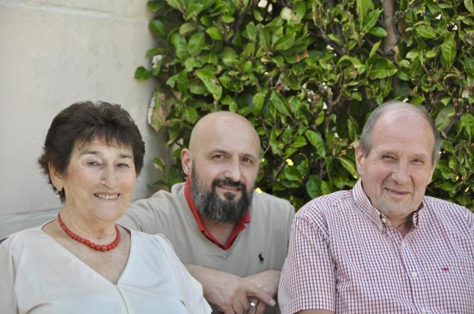 Ouders en zoon Hein foto RVL