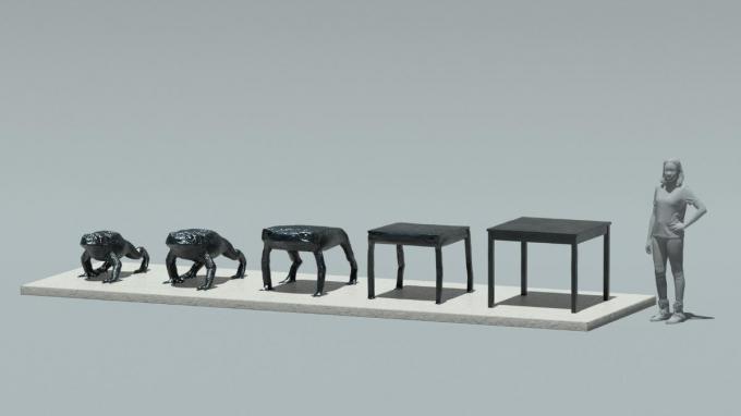 Oliver Laric combineert traditionele en 3D-beeldhouwtechnieken.© LC
