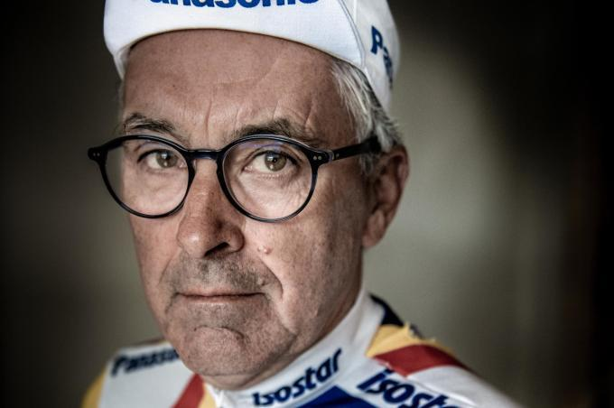 Erik Van Lancker is ploegleider van Sep Vanmarcke. (foto Christophe De Muynck)