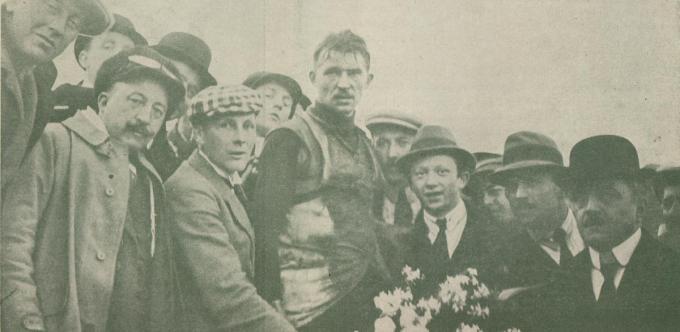 In 1920 won Jules Vanhevel de Ronde van Vlaanderen.© gf