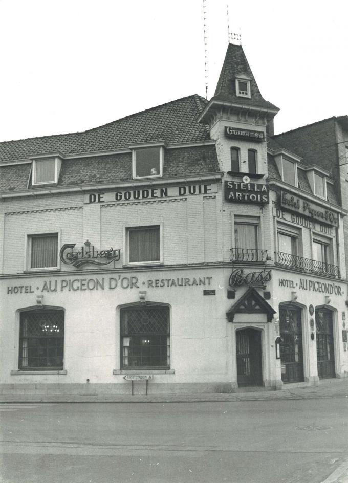 Eric was de bezieler en chef-kok van het voormalige hotel-restaurant Au Pigeon D'or.© GF
