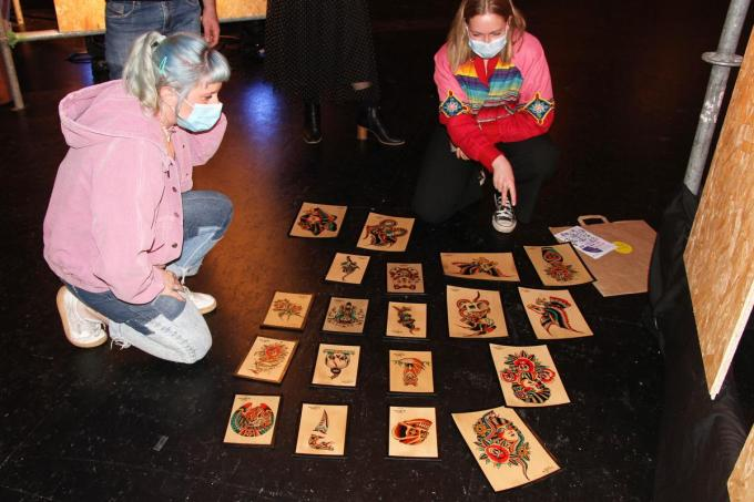 """""""Tattoo is ook een kunstvorm die we ook eens centraal mogen zetten"""", aldus de organisatoren.© JVGK"""