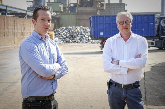 Communicatieverantwoordelijke Jasper Torreele (links) en gedelegeerd bestuurder Pierre Vandeputte. (foto CLL)