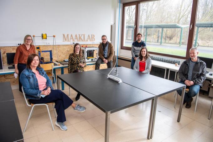 VTI Izegem is trots dat ze het Europese Stem-label behaalden.© Frank Meurisse