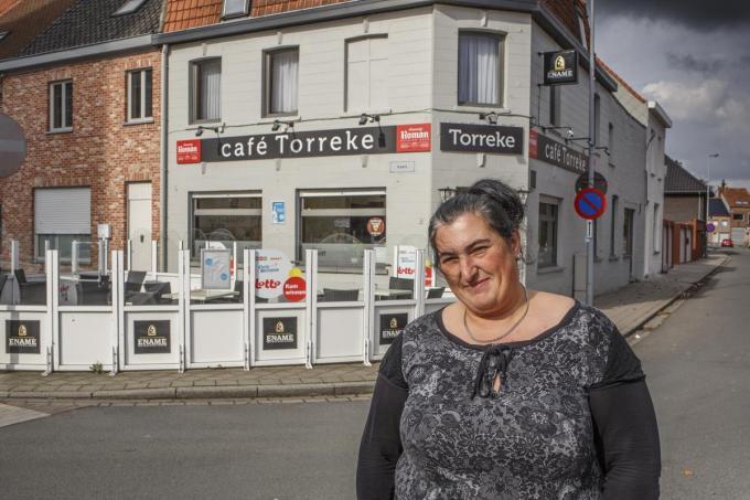 Anja Velle is de nieuwe uitbaatster van café Torreke in Ledegem.© Jan Stragier