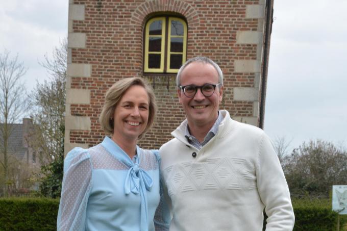 """Gudrun Vandoorne en Bruno Delrue: """"We kijken nu toch echt uit naar de beloofde heropening."""" (foto Hein Demeyer)©Hein Demeyer"""