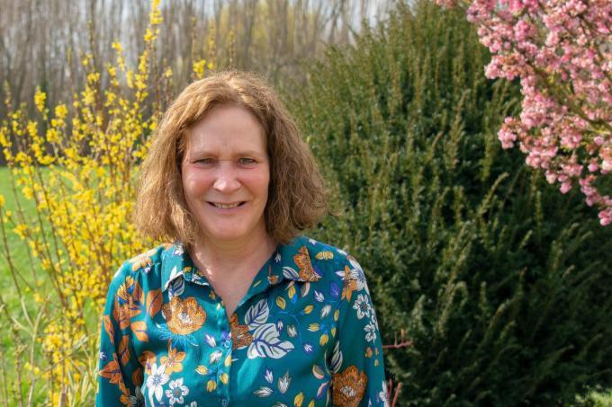 Christe Doornaert werkte 42 jaar bij de Burgerlijke stand in Kuurne. (foto AD)
