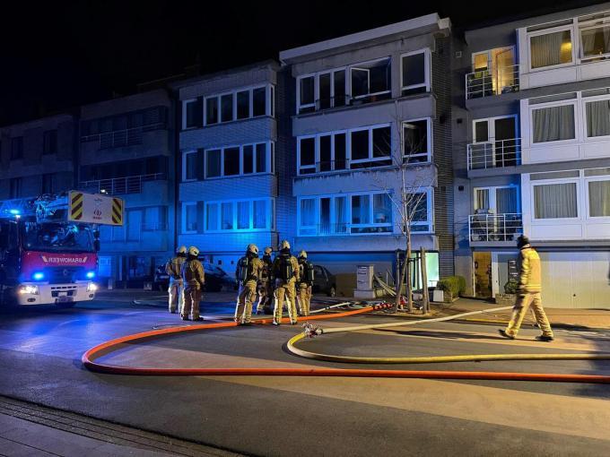 De brandweer had het vuur snel onder controle.© JVM