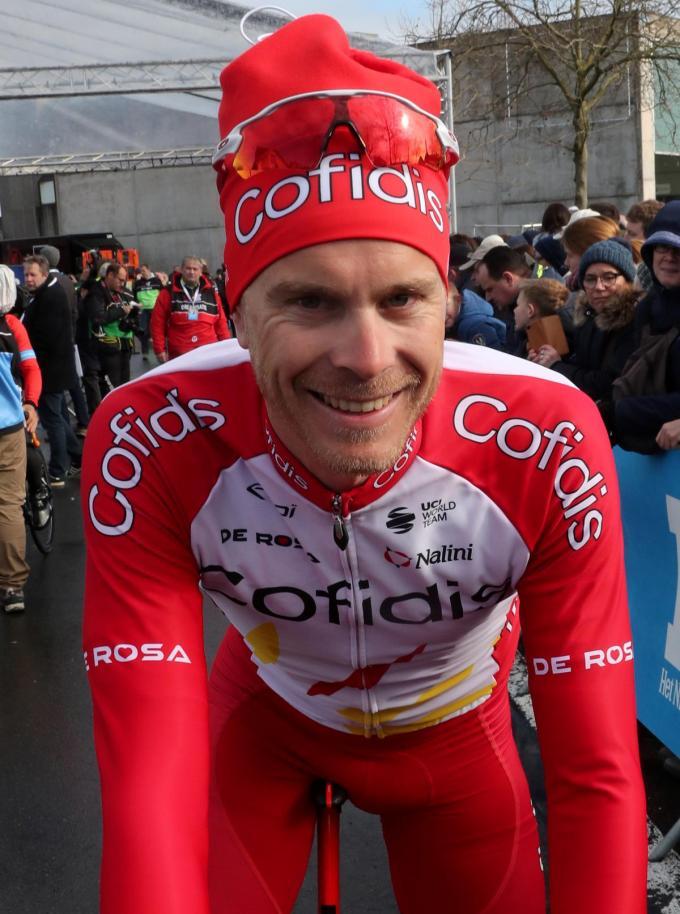 Julien Vermote, hier nog in een truitje van Cofidis, wordt ploegmaat van Mathieu Van der Poel.©VDB / Bart Vandenbroucke Bart