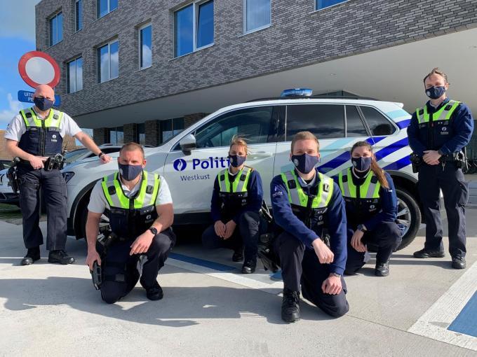 PZ Westkust krijgt versterking van zes collega's uit PZ Antwerpen.© MVO